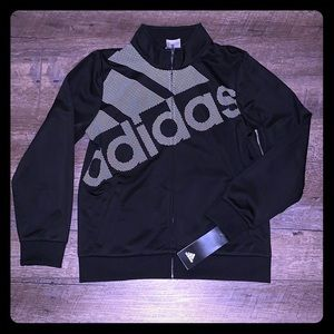 Adidas zip up sweat shirt
